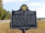 Providence Methodist Church & Schoolhouse Marker (Reverse) Batesville, AL by George Lansing Taylor, Jr.