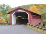 Henry Covered Bridge Bennington VT by George Lansing Taylor, Jr.