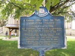 A County Older Than the State Marker, Athens, AL. by George Lansing Taylor, Jr.