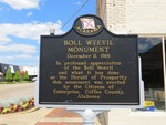 Boll Weevil Monument Marker, Enterprise, AL by George Lansing Taylor, Jr.