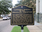 Cathedral-Basilica of the Immaculate Conception Marker, Mobile, AL by George Lansing Taylor, Jr.
