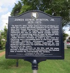 James Edwin Horton Jr Marker (Obverse), Athens, AL by George Lansing Taylor, Jr.