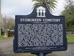 Evergreen Cemetery Marker, Gainesville, FL by George Lansing Taylor, Jr.