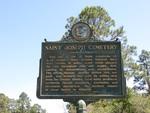 St Joseph Cemetery Marker, Port St Joe, FL by George Lansing Taylor, Jr.