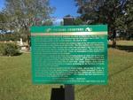 Vickers Cemetery Marker, Gadsden Co, FL by George Lansing Taylor, Jr.