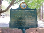 Falling Water State Park Marker (Reverse) by George Lansing Taylor, Jr.