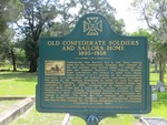 Old Confederate Soldiers and Sailors Home Marker (Obverse) Jacksonville, FL by George Lansing Taylor, Jr.