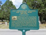 Old Confederate Soldiers and Sailors Home Marker (Reverse) Jacksonville, FL by George Lansing Taylor, Jr.