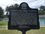 Douglass High School Marker (F-835), High Springs, FL by George Lansing Taylor, Jr.