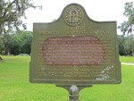 Bethel Primitive Baptist Church Marker (GHC 14-8) Brooks Co, GA by George Lansing Taylor, Jr.