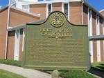 First Baptist Church Bell Marker Fitzgerald, GA by George Lansing Taylor, Jr.