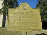 Mulberry Street Methodist Church Marker Macon, GA by George Lansing Taylor, Jr.