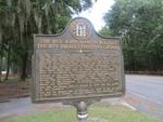Bolzius Gronau Marker Ebenezer, GA by George Lansing Taylor, Jr.