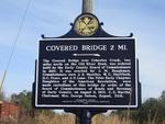 Covered Bridge 2 Miles Marker Hilton, GA by George Lansing Taylor, Jr.
