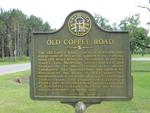 Old Coffee Road Marker (GHM 136-3) Barwick, GA by George Lansing Taylor, Jr.