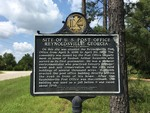 Site of US Post Office Reynoldsville GA Marker Seminole County, GA by George Lansing Taylor, Jr.
