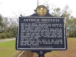 Antoch Institute Marker Louvale, GA by George Lansing Taylor, Jr.