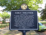 Early Theatres Marker Columbus, GA by George Lansing Taylor, Jr.