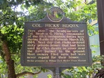 Col Hicks' Hdqrs Marker Paducah, KY by George Lansing Taylor, Jr.