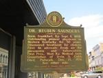 Dr Reuben Saunders Marker (Obverse) Paducah, KY by George Lansing Taylor, Jr.