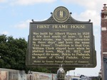 First Frame House Marker Paducah, KY by George Lansing Taylor, Jr.
