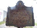 Historic River Front Marker (Reverse) Paducah, KY by George Lansing Taylor, Jr.