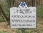 Harrisburg Covered Bridge Marker Harrisburg, TN by George Lansing Taylor, Jr.