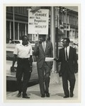 Rutledge Pearson With Two Other NAACP Picketers