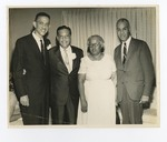 Rutledge Pearson, Dr. Alvin Gross, Gertrude Glover, Roy Wilkins