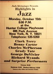 Highlights in Jazz Concert 008 – Clark Terry by Jack Kleinsinger and Danny Gottlieb