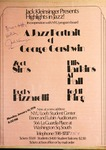 Highlights in Jazz Concert 011 - A Jazz Portrait of George Gershwin by Jack Kleinsinger and Danny Gottlieb