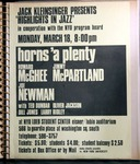 Highlights in Jazz Concert 013 - Horns A Plenty by Jack Kleinsinger and Danny Gottlieb