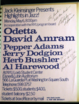 Highlights in Jazz Concert 014 - Odetta/David Amram by Jack Kleinsinger and Danny Gottlieb
