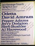Highlights in Jazz Concert 014 - Odetta/David Amram