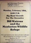 Highlights in Jazz Concert 018 - Bill Watrous' Manhattan Wildlife Refuge by Jack Kleinsinger and Danny Gottlieb