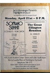 Highlights in Jazz Concert 020 - The Great Ellington Reunion and Soprano Summit by Jack Kleinsinger and Danny Gottlieb