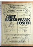 Highlights in Jazz Concert 021 - Frank Foster's Loud Minority and Chet Baker by Jack Kleinsinger and Danny Gottlieb