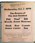 Highlights in Jazz Concert 022 – Return of the Jam Session