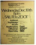 Highlights in Jazz Concert 024 – Salute to Zoot by Jack Kleinsinger and Danny Gottlieb