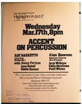 Highlights in Jazz Concert 026 – Accent on Percussion