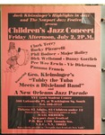 Highlights in Jazz Concert 029 – Children's Jazz Concert