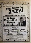 Highlights in Jazz Concert 032 – Jazz Portrait of Hoagy Carmichael