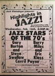 Highlights in Jazz Concert 034 – Jazz Stars of the 70's