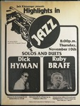 Highlights in Jazz Concert 039 - Solos and Duets