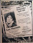 Highlights in Jazz Concert 043 - Lee Horwin
