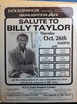 Highlights in Jazz Concert 047 - Salute to Billy Taylor