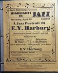 Highlights in Jazz Concert 052 - A Jazz Portrait of E.Y. Harburg