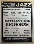 Highlights in Jazz Concert 055 - Battle of the Big Horns