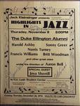Highlights in Jazz Concert 056 - Duke Ellington Alumni