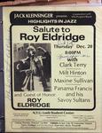 Highlights in Jazz Concert 057 - Salute to Roy Eldridge